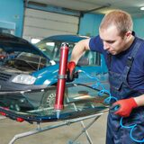Auto glass for cars